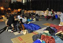 14 Hours Homeless event in Wellington September 2015