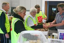 Salvation Army emergency services staff from Blenheim serve the Ward community