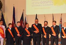 seven cadets from the Messengers of the Gospel session and one Joyful Intercessor were commissioned.