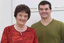 Alison and Simon Holst