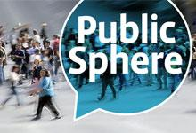 Public Sphere newsletter cover image