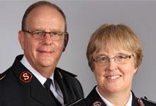 General Andre and Commissioner Silvia Cox