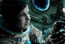 Sandra Bullock in the film Gravity.