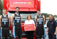 NZ Breakers basketball team, Crown Relocations and Salvation Armystaff