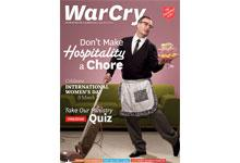 8 March 2014 War Cry cover image