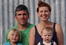 Lucy AitkenRead and family