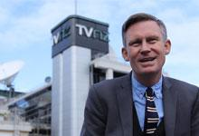 TV journalist and producer Tim Wilson