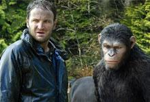 Still image form the film Dawn of the Planet of the Apes