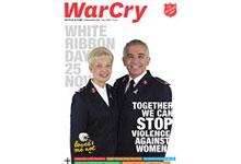15 November 2014 War Cry cover image