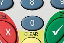 a credict card machine