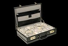 a briefcase of money