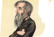 a caricature of William Booth published by the British magazine Vanity Fair in November 1882