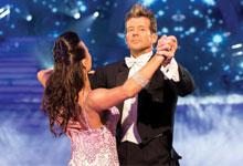 Simon Barnett on dancing with the stars