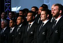 The All Blacks 2015 world cup squad