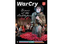 16 April 2016 War Cry cover image