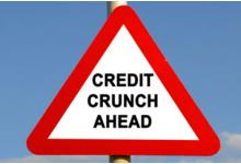 Sign: Credit Crunch Ahead