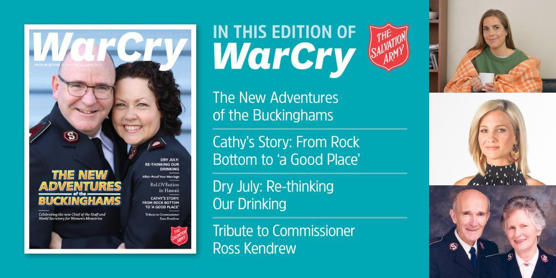 War Cry 14 July 2018 promo image