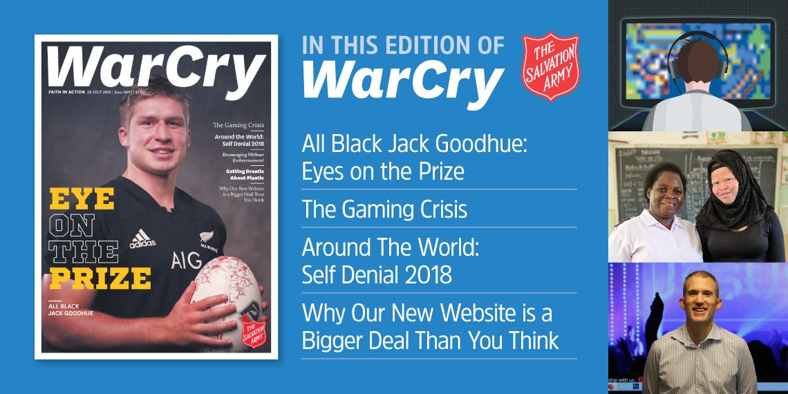 War Cry 28 July 2018 promo image