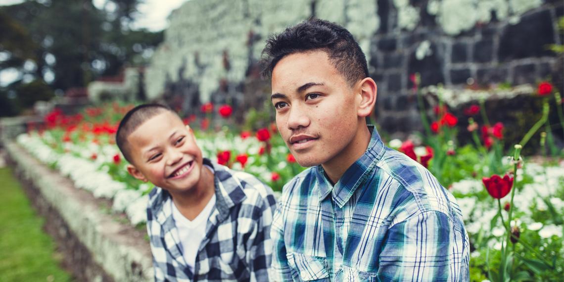 Two Maori boys