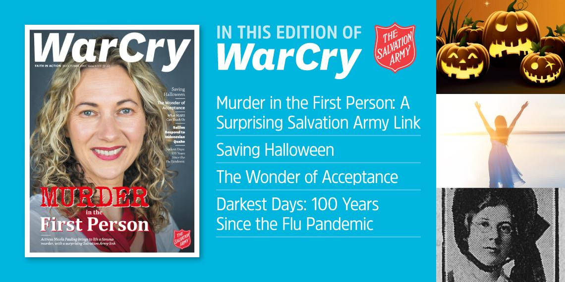 20 October 2018 War Cry cover image