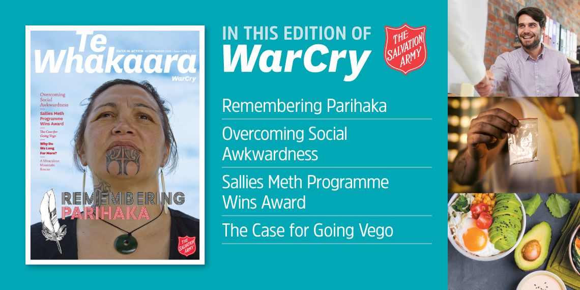 3 November 2018 War Cry cover