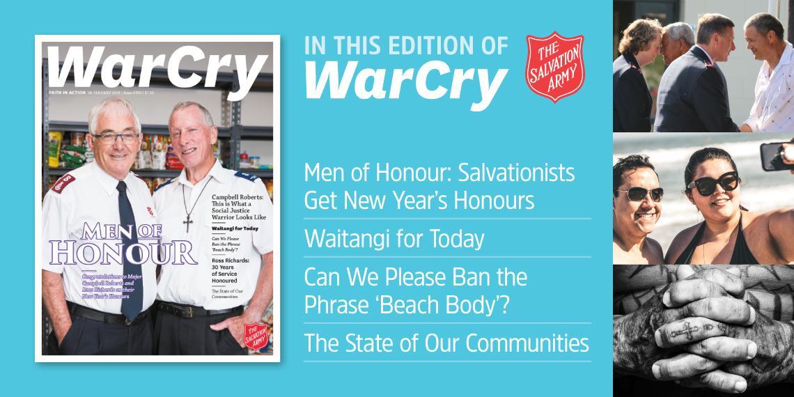 26 January 2019 war cry promo