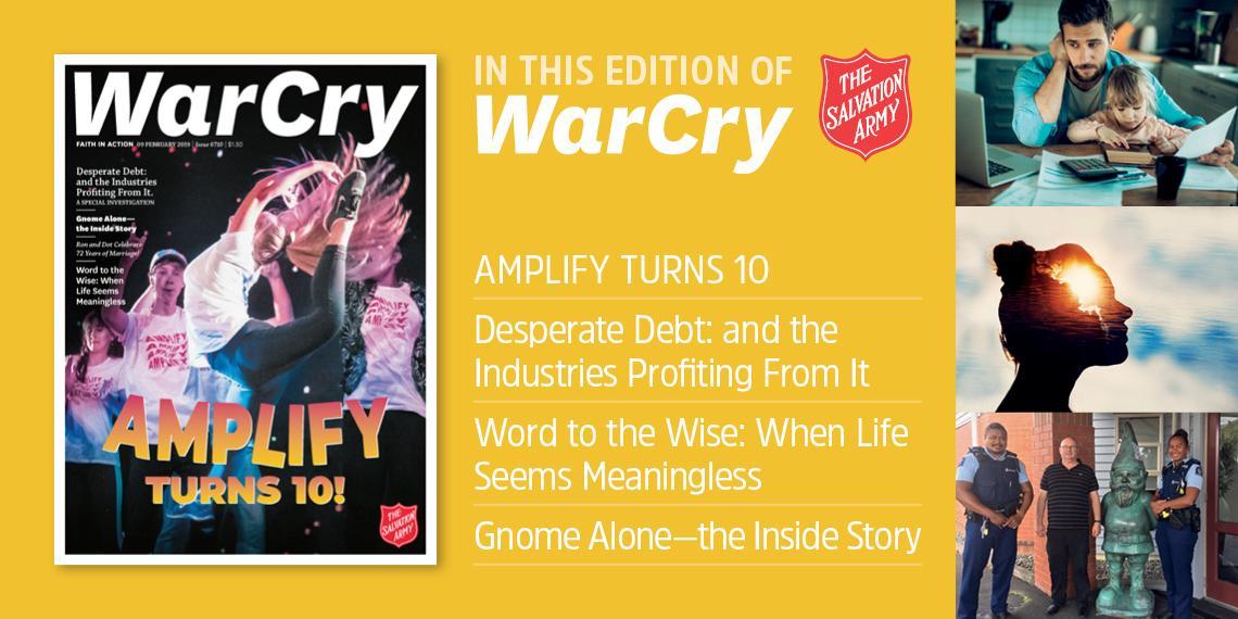 9 february 2019 war cry promo image