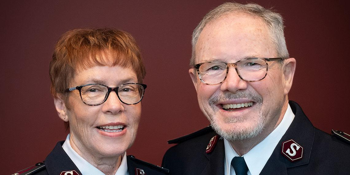 Commissioners Andy and Yvonne Westrupp