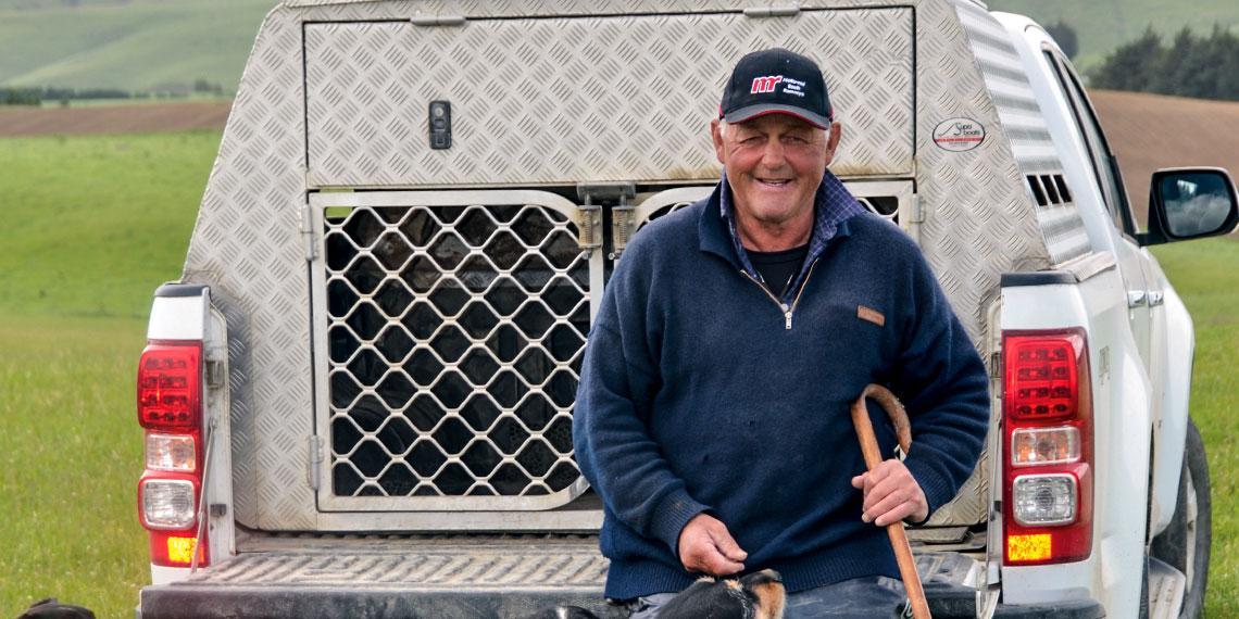 Jeff Farm Manager John Chittock