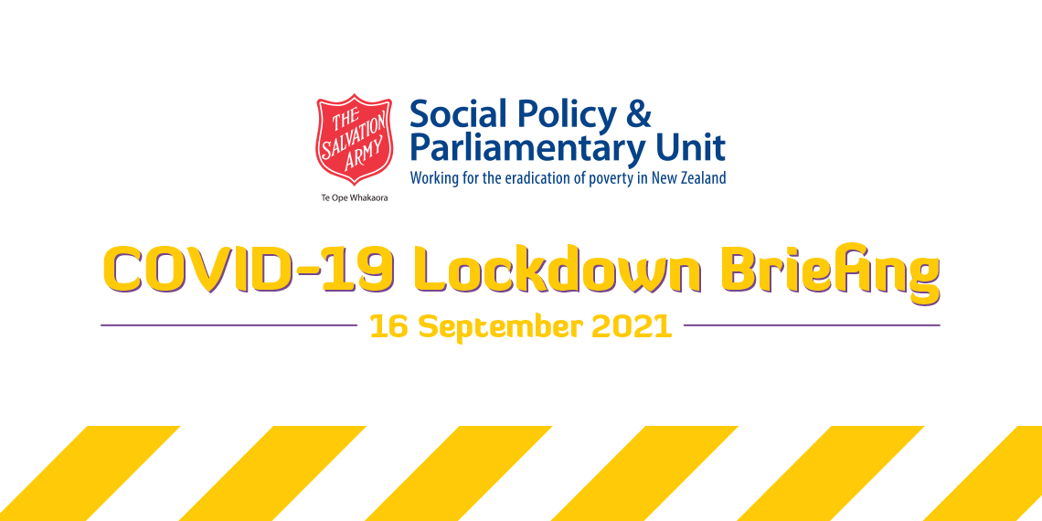 Covid-19 Briefing - 16 September 2021
