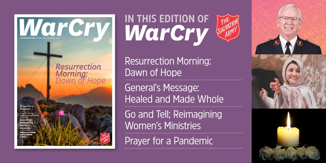 War Cry 04 April 2020 edition