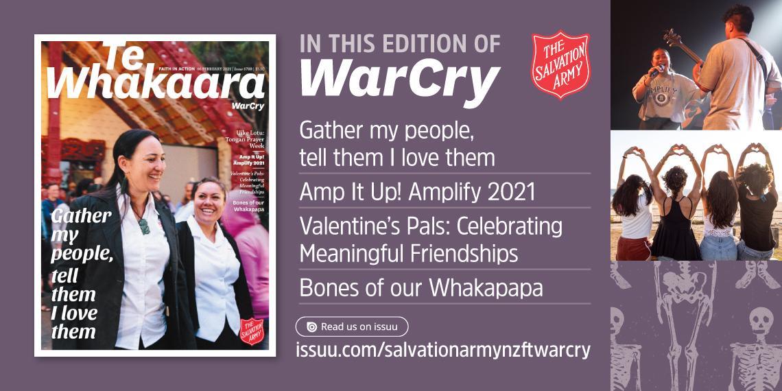 06 Feb 2021 War Cry NZFTS Promo