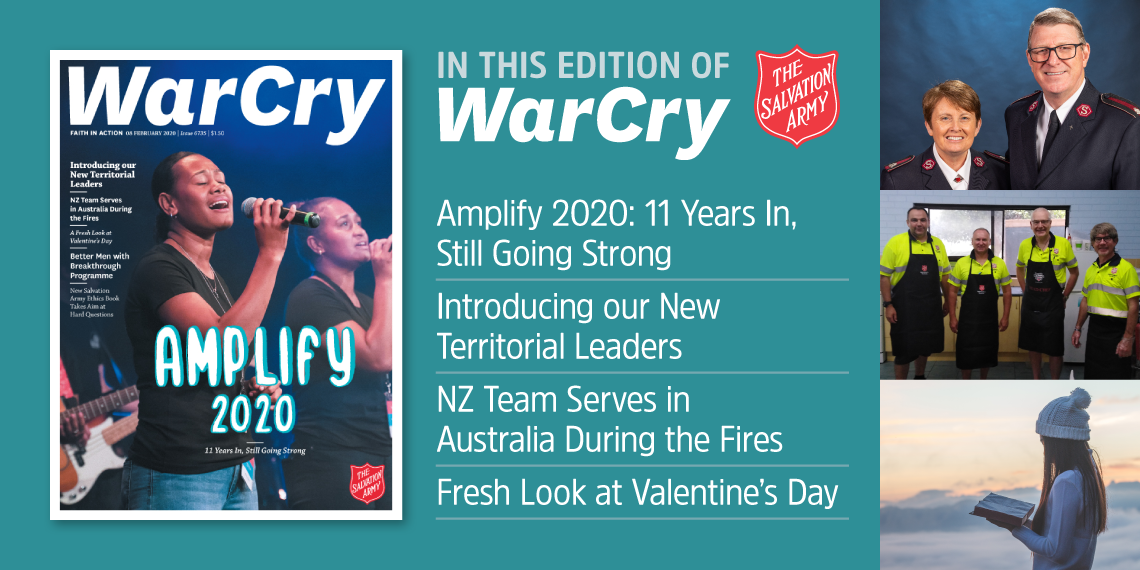 08 February 2020 War Cry Cover