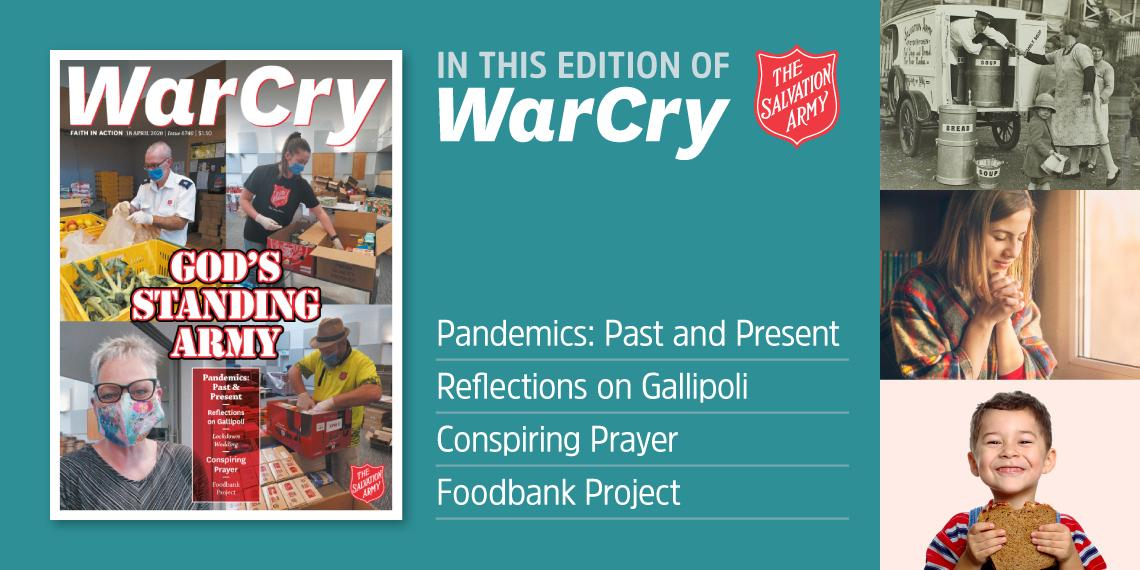 War Cry 18 April 2020 edition