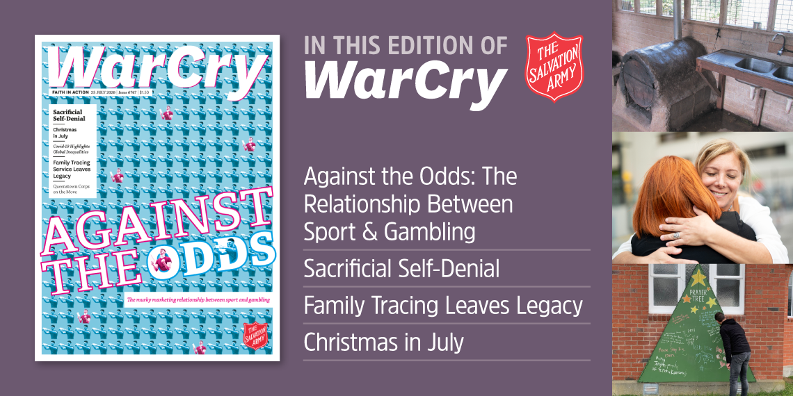 War Cry 25 July 2020 Cover