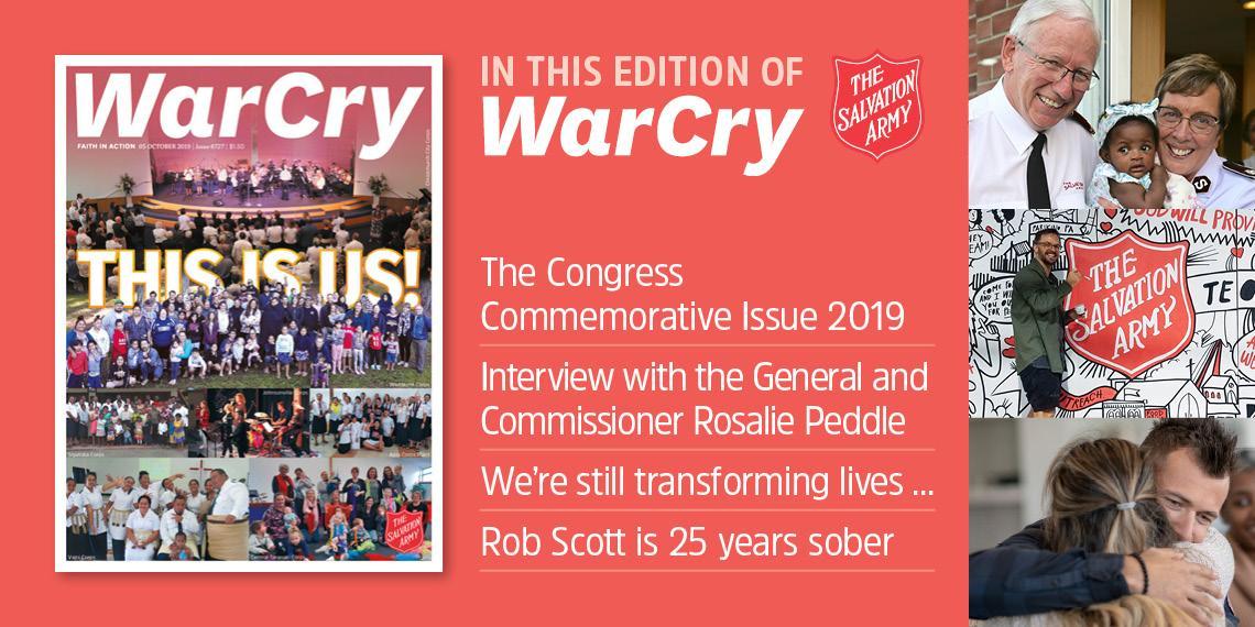 War Cry 05 October 2019