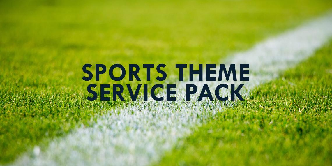 Sports Theme Service Pack | The Salvation Army