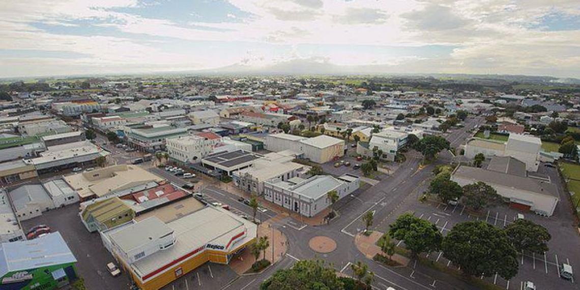Hawera city
