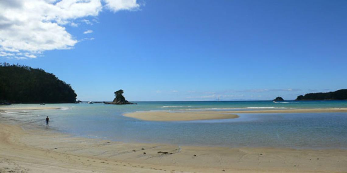 A beach in Abel Tasman near Motueka