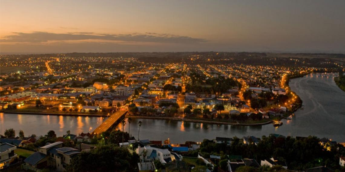 Wanganui city