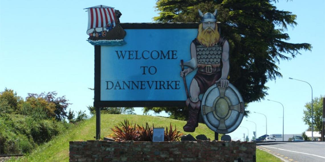 The Dannevirke sign and viking