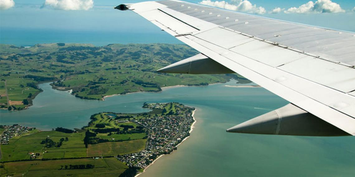 Manukau from the air