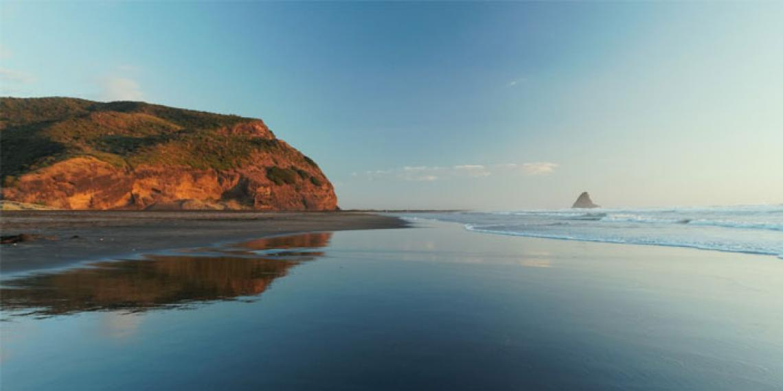 A Waitakere beach
