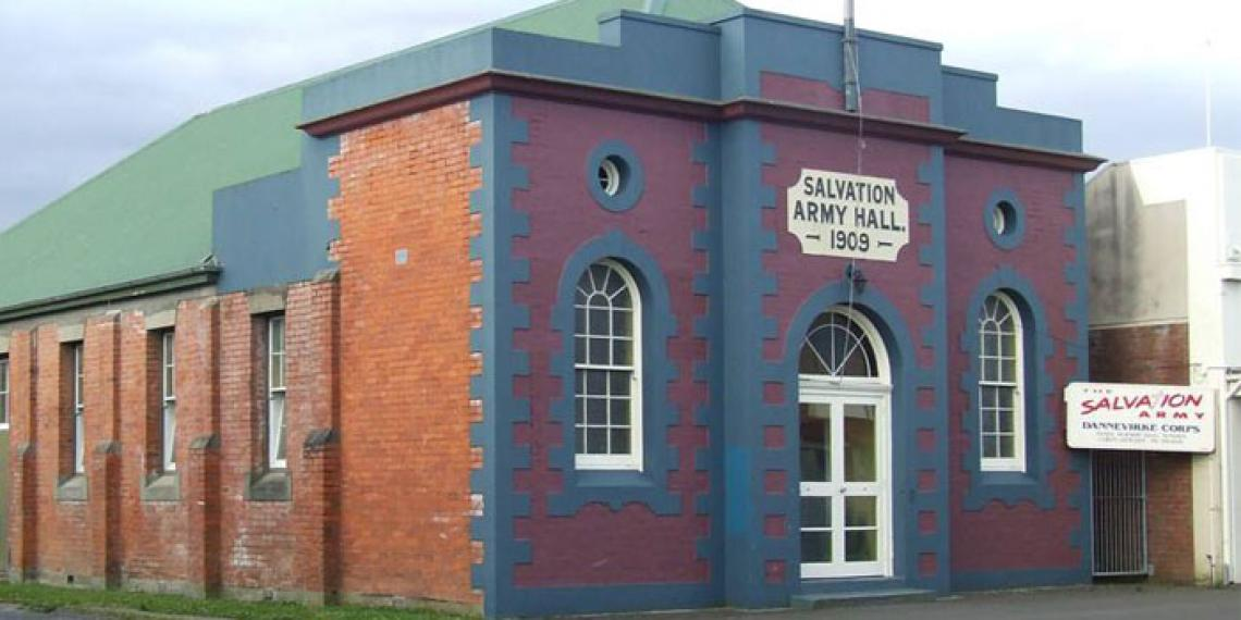 Dannevirke Corps building