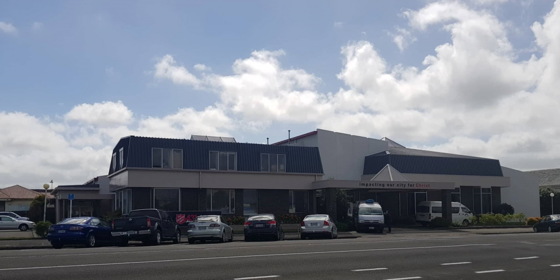 Palmerston North Corps building