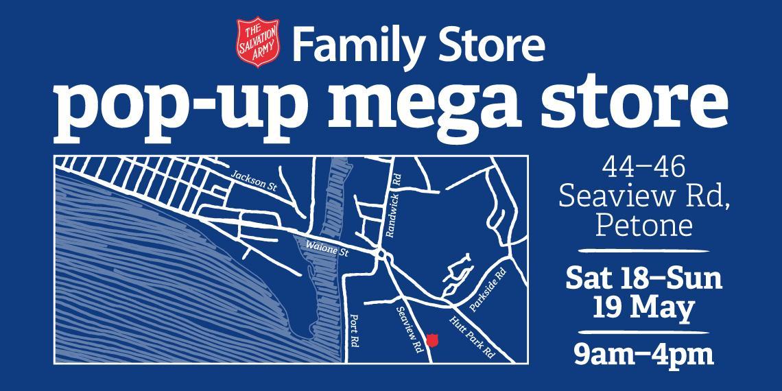 pop up mega store image