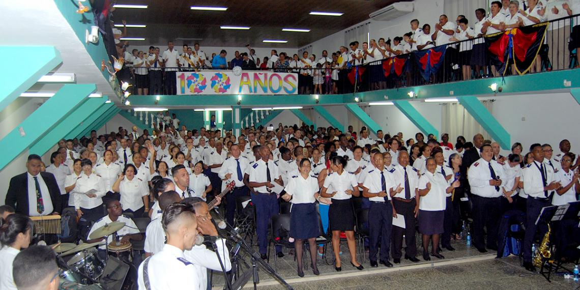100 years of The Salvation Army in Cuba