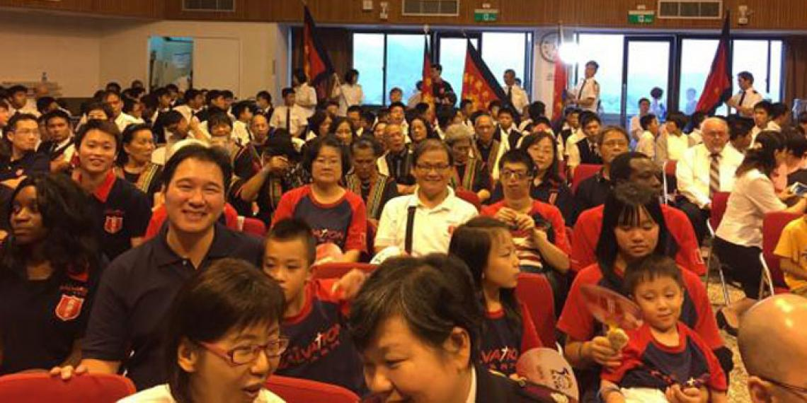 General Cox made an official visit to Taipei to mark 50 years of The Salvation Army's re-entry to the country.