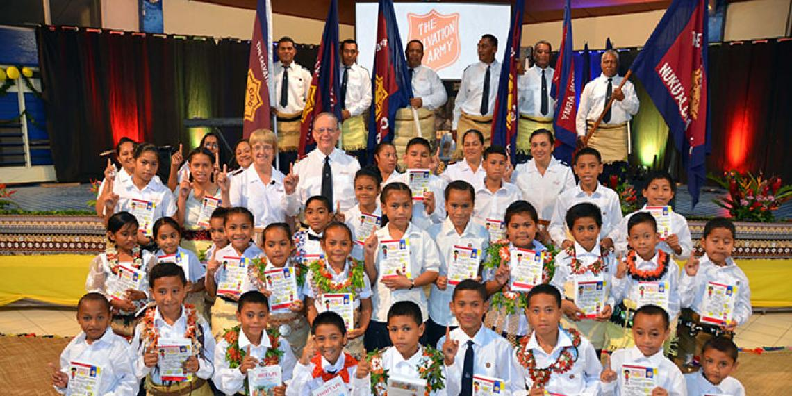 The General's visit to Tonga for 30 years celebration.