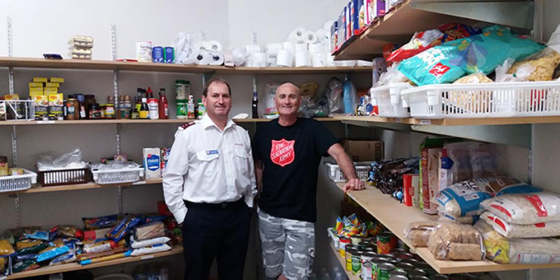 Demand Helps Online Foodbank Expand The Salvation Army
